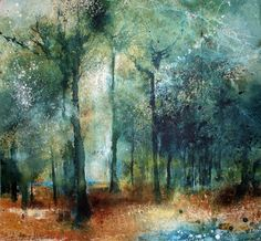 Stewart Edmondson Every Song, Acrylic on paper 89 x 94 cm Watercolor Trees, Watercolor Landscape, Abstract Landscape, Landscape Paintings, Watercolor Paintings, Watercolor Artists, Oil Paintings, Abstract Portrait, Oil Painting Abstract
