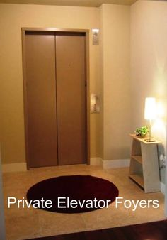 Aqua Midtown Atlanta Homes Have Private Elevator Foyer Entrances!