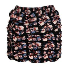 This blurred floral print gather skirt has a very directional wax print finish and is fully lined in contrasting black jersey. It is a heavy weight, quality skirt which can be worn at the waist or on the hips due to the elasticated waist. Skirt Fashion, 90s Fashion, Print Finishes, Floral Mini Skirt, Bear Print, Gathered Skirt, Floral Prints, Mini Skirts, Punk
