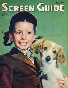 Margaret O'Brien, Screen Guide Magazine, April 1945