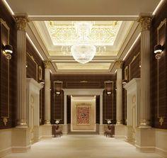 Private villa interior design - Dubai