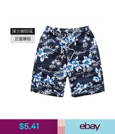 7f682c8bc6d97 $5.41 - Casual Shorts Men's Surf Board Shorts Beach Pants Swimming Trunks  Size M-6Xl #ebay #Fashion
