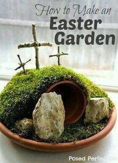 Easter Garden !
