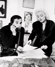 Milton Greene and Marilyn Monroe