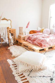 Cute Room Ideas, Cute Room Decor, Bohemian Bedroom Decor, Boho Room, Bohemian Interior, Room Ideas Bedroom, Girls Bedroom, Cozy Bedroom, Boho Bedrooms Ideas