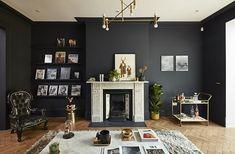 ADE Architecture saniert umfassend ein Heim in London, England Coastal Living Rooms, Living Room Decor, Living Spaces, Decor Interior Design, Interior Decorating, Decorating Ideas, Hall Interior, Decoracion Vintage Chic, Open Plan Kitchen Diner