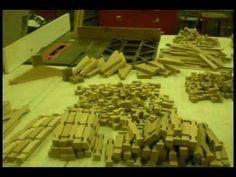 Making Lincoln like logs