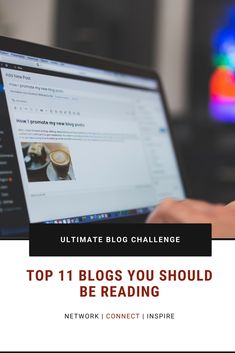 Top 11 Blogs You Should be Reading News Blog, Promotion, Ads, Posts, Reading, Inspiration, Biblical Inspiration, Messages, Reading Books