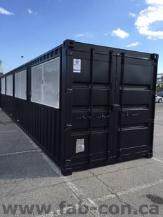 Ticket booth!   Want your new custom container? Call us today! Fabricated…