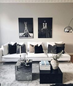 Learn how to make your living room look and feel more luxurious with these key design principles and ideas Living room decor Making Your Living Room Look and Feel More Luxurious - Jessica Elizabeth Home Living Room, Room Design, Home, House Interior, Apartment Decor, Room Decor, Living Decor, Home And Living, Living Room Designs