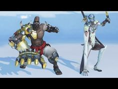 Funny Animations in Slow Motion #2 [Overwatch] - YouTube