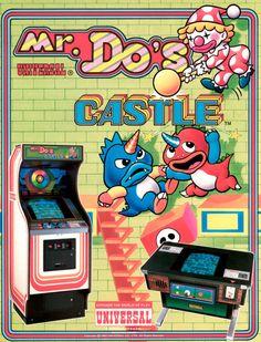 Mr. Do's Castle, arcade.