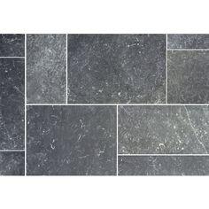 Natursteinfliesen Visso Nero Römischer Verband Aluminium, Kitchen Remodel, Tile Floor, Flooring, Texture, Crafts, Palette Knife, Flooring Tiles, Natural Stones