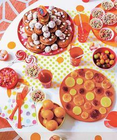 Kids' birthday party theme idea: Circles.