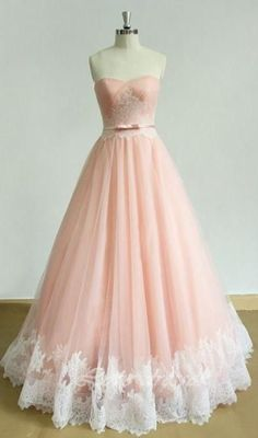 Ball Gown Prom Dress, elegant long prom dress sweetheart applique a-line pink evening dress Shop Short, long ball gowns, Prom ballroom dresses & ball skirts Pretty ball gowns, puffy formal ball dresses & gown Prom Dresses For Teens, Ball Gowns Prom, A Line Prom Dresses, Tulle Prom Dress, Homecoming Dresses, Cute Dresses, Dress Up, Long Dresses, Dress Lace