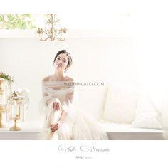 lovely bride in korea pre-wedding photo by any studio