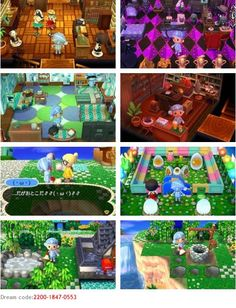 Ghibli themed animal crossing new leaf town lalaland howls