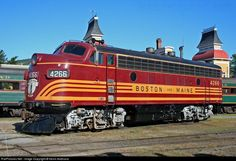 15 best images about Boston & Maine F7 locomotives. on ...