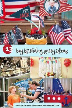 13 Boy Birthday Party Ideas