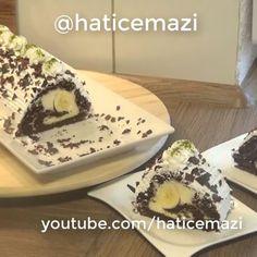 """3,396 Beğenme, 54 Yorum - Instagram'da Hatice Mazi (@haticemazi): """"Selam arkadaslarMuzlu #rulopasta tarifini youtubedeki kanalimda detayli anlattim ordan bakip…"""""""