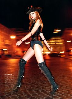 Vogue Japan, July 2011 - Spaghetti Western Lindsey Wixson - Model Terry Richardson