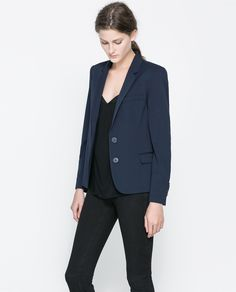 ZARA - WOMAN - BLAZER WITH BUTTONS