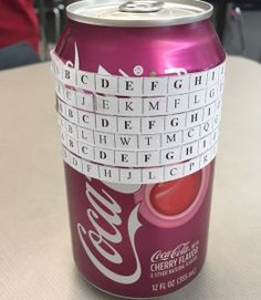 For Teachers: Soda Can Enigma Machines | Pre-Algebra