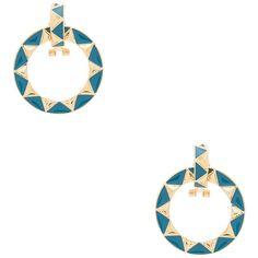 House Of Harlow House of Harlow Nile Delta Convertible Earrings in Blue sgyyaK