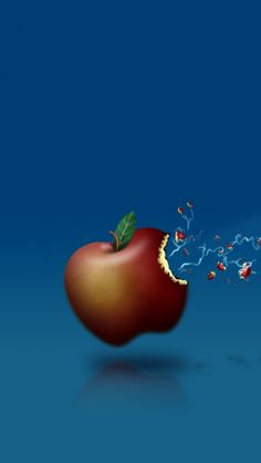 640x1136 Wallpaper app store, apple, mac, fruit, shot, lightning
