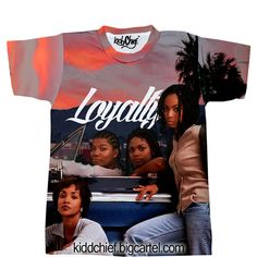 Set it off Loyalty Kidd Chief ($36) ❤ liked on Polyvore featuring tops, t-shirts, shirts, tees, t shirt, shirt top and tee-shirt