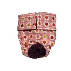 Dog Diapers - Made in USA - Cherry Blossom on Pink Washable Dog Diaper for Incontinence, Housetraining and Dogs in Heat -- Continue to the product at the image link. (This is an affiliate link and I receive a commission for the sales)