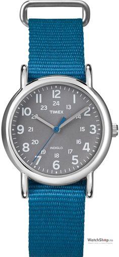 Stramosii nostrii, aflau cat e ora, orientandu-se dupa soare. Cu trecerea timpului, au aparut, obiecte moderne de masurare a timpului. Toti, indiferent de sex, purtam ceasuri. Mai mult, avem in casa, labirou tot felul de ceasuri: mecanice, de perete, de birou, electronice. Acest Ceas Timex Weekender T2N913 Slip Thru Blue, este un adevarat gadget. Il …