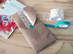 cosas molonas & dos sobres de última hora con papel craft | milowcostblog