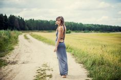 Need a new look for summer? Try this backless dress