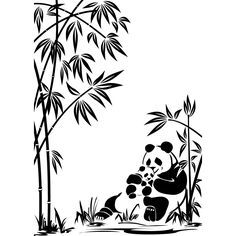 Cheap wall decals stickers, Buy Quality designer wall stickers directly from China wall sticker Suppliers: Mother and Son Panda Vinyl Wall Decal Sticker Art Decor Bedroom Living Room Home Design Murals Bamboo Plant Wall Stickers Art Clipart, Vector Art, Wall Decal Sticker, Wall Stickers, Vinyl Decals, Stickers Panda, Panda Family, Baby Bamboo, Family Stickers