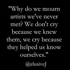 It's been a tough week with such incredible artists leaving us. Both David Bowie and Alan Rickman were such incredible generous daring souls. I saw this quote and thought it was absolutely true. Had to share. #davidbowie #alanrickman #trueartists  #theywillbemissed