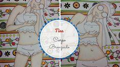 Como pintar pele bronzeada - Livro de Colorir da Tina   Luciana Queiróz
