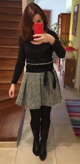 Bulles de cerises: Tuto de la jolie jupe patineuse (modèle femme, taille haute)