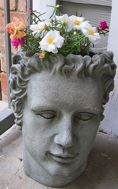 sculpture planter | Flickr - Photo Sharing!