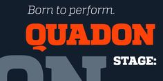 Quadon - Webfont & Desktop font « MyFonts