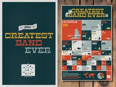 The Greatest Band Ever Print by The Night Shift Design Co-Op on Design Milk today!