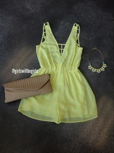 Not big on rompers but this would make a cute summer tank :)