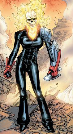 Ghost Rider (Alejandra Jones) by Scott Eaton