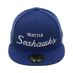 b331d4fc6f3 Exclusive New Era 59Fifty Seattle Seahawks Script Hat - Royal New Era  59fifty