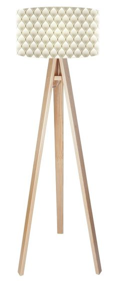 Paris Chic 140cm Tripod Floor Lamp