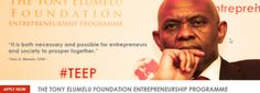 Tony Elumelu Gives African Entrepreneurs a Chance to Make It in the Big League-Chicamod