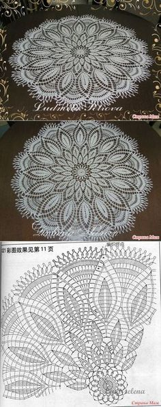 Crochet mandala free pattern doilies Ideas for 2019 Filet Crochet, Crochet Doily Diagram, Crochet Mandala Pattern, Crochet Flower Patterns, Thread Crochet, Crochet Designs, Crochet Flowers, Rug Patterns, Tatting Patterns
