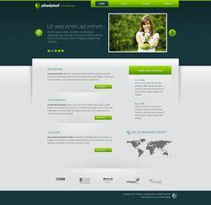 green and blue web design - #web #design