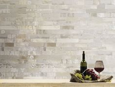 Bricks and letters in a modern wallpaper. With its warm shades, Winston is a perfect frame for a restaurant or a pub. Modern Wallpaper, Home Wallpaper, Custom Wallpaper, Wallpaper Decor, Sound Proofing, Tecno, How To Take Photos, Shabby Chic, Restaurant