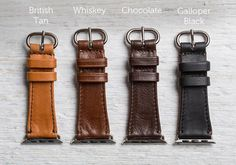 The Classic Apple Watch Band by Pad & Quill